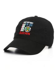 Men - Cross Colours Post Hip Hop Nation Embroidered Dad Cap-2226826