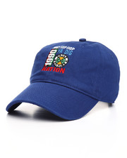 Cross Colours - Cross Colours Post Hip Hop Nation Embroidered Dad Cap-2226827