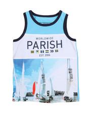 Parish - Worldwide Color Block Tank Top (2T-4T)-2226380