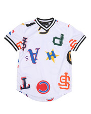 Arcade Styles - All Over Print Baseball Jersey (8-20)-2225469