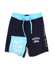 Parish - Worldwide Color Block Shorts (2T-4T)-2226384