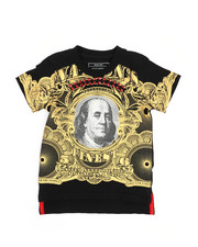 Sizes 2T-4T - Toddler - Mo Money Pyramid Stud Graphic Tee (2T-4T)-2226359