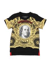 Boys - Mo Money Pyramid Stud Graphic Tee (2T-4T)-2226359