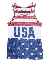 Brooklyn Cloth - USA Stripe Tank Top (8-20)-2226402