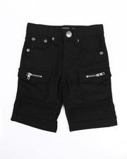 Arcade Styles - Moto Cargo/Cut And Sewn Knee Shorts (4-7)-2226120