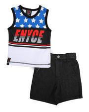 Enyce - 2 Piece Denim Short/Tank (Infant)-2223892