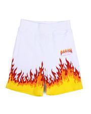 Parish - On Fire Printed Knit Shorts (2T-4T)-2226393