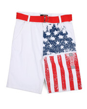 Boys - Twill Shorts (8-20)-2224873