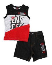 Enyce - 2 Piece Denim Short/Tank (Infant)-2223926