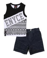 Enyce - 2 Piece Denim Short/Tank Set (Infant)-2223981