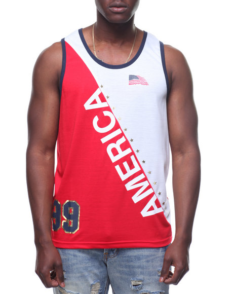 f58589a6655cd6 Buy LOVE AMERICA TANK Men s Shirts from Rocawear. Find Rocawear ...