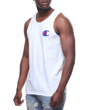 Athleisure for Men - Graphic Script Tank-2227325