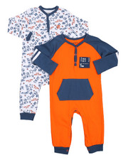 Sets - 2 Pack DK Taxi Coverall Set (Infant)-2226302
