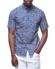 Loft 604 - HOUSE PATTERN S/S BUTTONDOWN-2227355