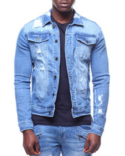 Kilogram - Distressed Denim Jacket-2226773