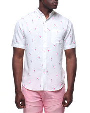 Loft 604 - FLAMINGO S/S BUTTONDOWN-2227365