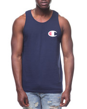 Athleisure for Men - Graphic Script Tank-2227345