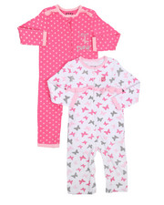 Infant & Newborn - 2 Pack Love NYC Coverall Set (Infant)-2226293