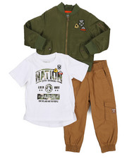 Sizes 2T-4T - Toddler - 3 Piece Bomber Set (2T-4T)-2224094