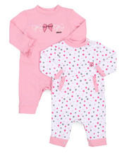 Infant & Newborn - 2 Pack NYC Dot Coverall Set (Infant)-2226289