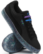Puma - Suede Classic V2 All-Over-Print Graffiti Sneakers-2227535