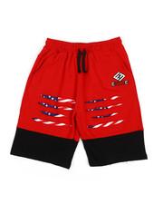 Enyce - Slashed Print Drawstring Shorts (8-20)-2225924