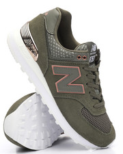 New Balance - 574 Military Foliage Green Sneakers-2227560