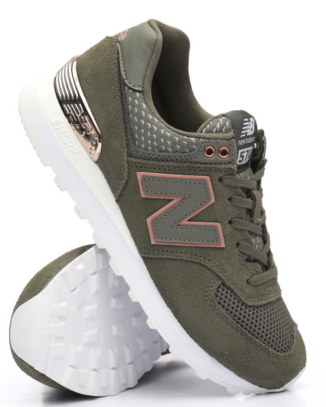 New Balance - 574 Military Foliage Green Sneakers