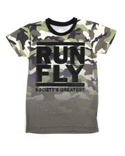 Arcade Styles - Run Fly Crew Neck Tee (8-20)-2227177