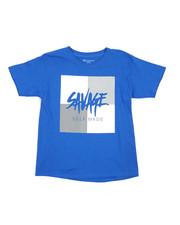T-Shirts - Savage Color Block Tee (8-20)-2226911