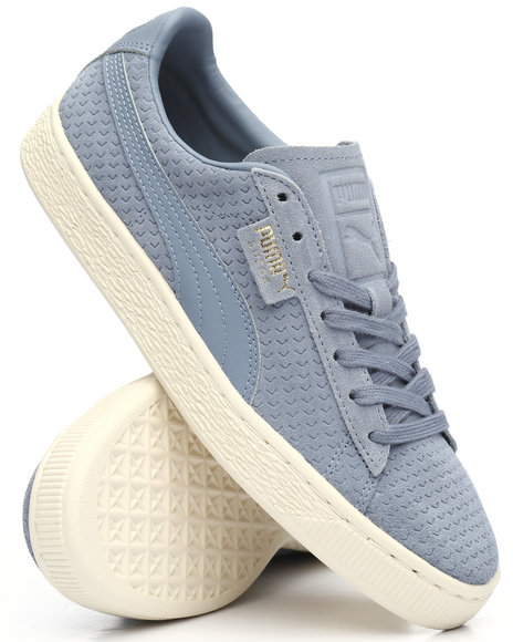 b0f6ab153fdb9b Buy Suede Classic Perforation Sneakers Men s Footwear from Puma ...