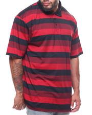 Men - S/S Stripe Polo T-Shirts (B&T)-2227906