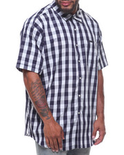 Sean John - S/S Checker Shirt (B&T)-2228378