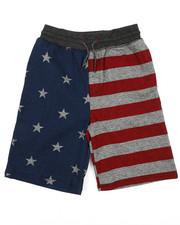 Brooklyn Cloth - Stars & Stripes Jogger Shorts (8-20)-2227072