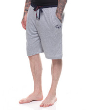 Loungewear - Cotton Knit Sleep Shorts-2228255