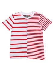 Brooklyn Cloth - Split Stripe Crewneck Tee (8-20)-2226499