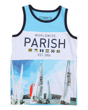 Boys - Worldwide Color Block Tank Top (4-7)-2226786