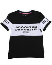 Brooklyn Cloth - Retro Brooklyn Block Tee (8-20)-2226494