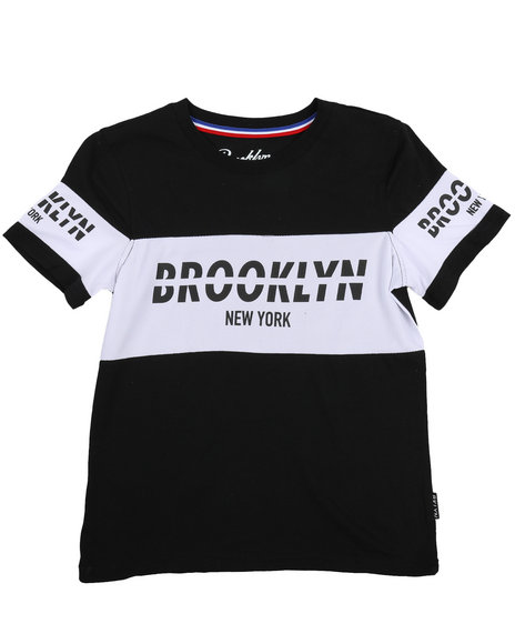 Brooklyn Cloth - Retro Brooklyn Block Tee (8-20)