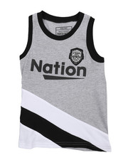Boys - Cut & Sew Tank Top (4-7)-2227054