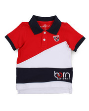 Boys - Fly Sport Pieced Polo (2T-4T)-2227139