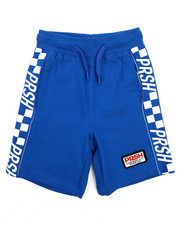 Boys - Racing Loopback Shorts (4-7)-2226851