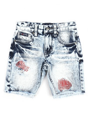 Bottoms - Fly Sport Washed Denim Shorts (4-7)-2227513