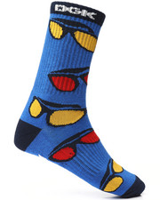 DRJ SOCK SHOP - Shades Crew Socks-2227744