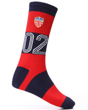 DRJ SOCK SHOP - WC Play Maker Crew Socks-2227093