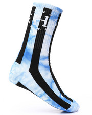 DRJ SOCK SHOP - WC Bad Referee TD Striped Crew Socks-2227095