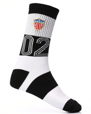 DRJ SOCK SHOP - WC Play Maker Crew Socks-2227094
