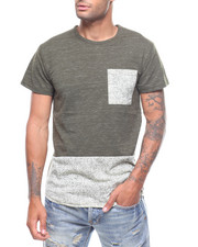 Stylist Picks - Contrast Bttm Pocket Speckle Tee-2228841