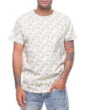 Spring-Summer-M - ALL OVER ABSTRACT PRINT TEE-2228757