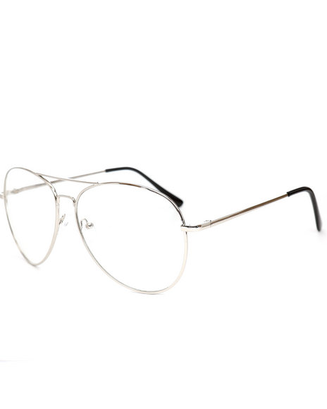 DRJ Sunglasses Shoppe - Clear Aviator Sunglasses